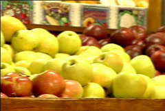 Apples for Sale 034 Stock Footage