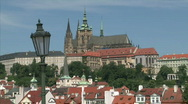 Stock Video Footage of Prague castle ponarama