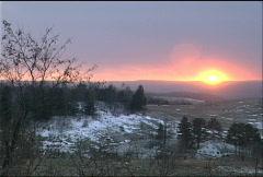 Pennsylvania Sunset 048 Stock Footage