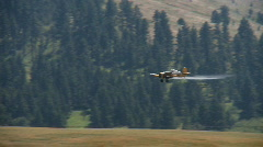 Crop duster Stock Footage