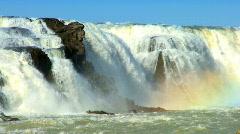 Gulfoss Waterfall  Stock Footage