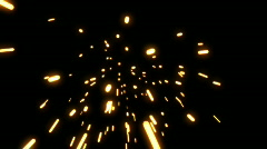 Sparks Element 01 (30fps) - stock footage