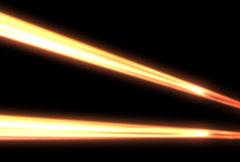 Light Beams (NTSC) - stock footage