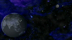 Dark Space HD - stock footage