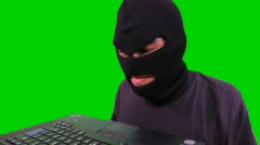 Hacker attack - stock footage