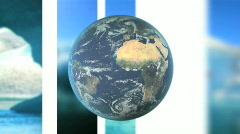 Climate Change Loop Stock Footage