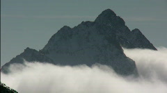 Titlis mountain cloud - stock footage
