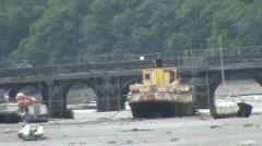 Cargo ship Stock Footage