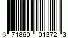 Bar-code scan - digital animation - stock footage