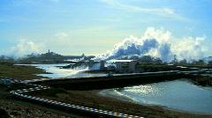 Geothermal Power & Energy - stock footage