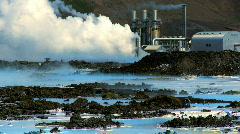 Geothermal Hot Springs Stock Footage
