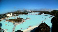 Geothermal Spa Waters  Stock Footage