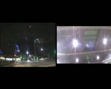 NightTrafficCanberraCity02 Stock Footage