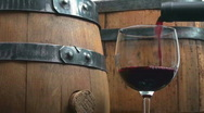 Stock Video Footage of Wooden wine kegs