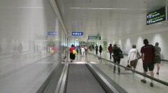 Airport Passengers Stock Footage