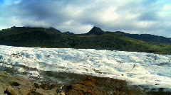 Vatnajokull Glacier Stock Footage