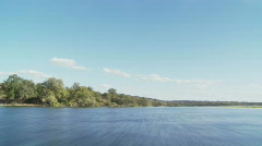Chobe River Time Lapse Stock Footage
