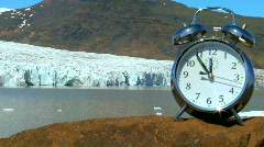 (T-lapse)Time For Climate Change Stock Footage