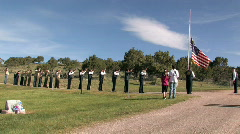 Honor Guard Memorial Day M HD Stock Footage