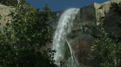 Yosemite-Bridal-Veil-Waterfall-4 Stock Footage