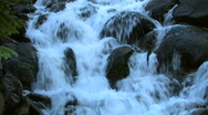 Beautiful Waterfall in the Rocky Mountains Stock Footage