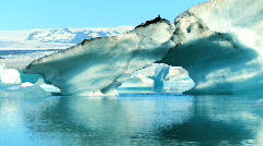 Melting Polar Icecap - stock footage