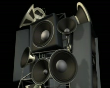 SpeakerRot - stock footage