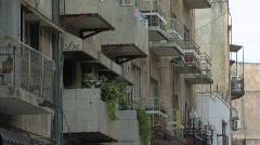 Streets in Jerusalem. Stock Footage