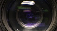 Stock Video Footage of Camera Lens Focus Front