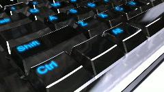 Keyboard - stock footage