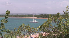 Puerto Plata in the Dominican Republic Stock Footage