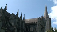 St. Patrick's Cathedral, Dublin Stock Footage