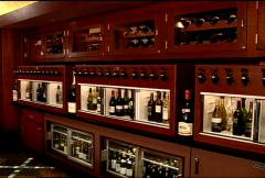 Wine Rack 112 Stock Footage