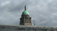 The Four Courts at Dublin Stock Footage