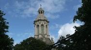 Trinity College, Dublin  Stock Footage