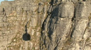 Stock Video Footage of Table Mountain Aerial CableWay shadow
