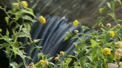 Landscape waterfall 5 (P5) - stock footage