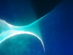 Blue Twist - stock footage