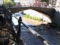 Bridge Uppsala 1 Stock Footage