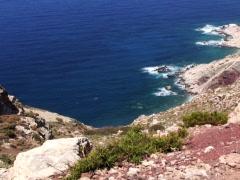 Cliffside Seaside 2 Stock Footage