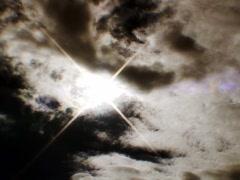 Sun Star Cloud Stock Footage