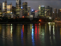 Sydney Nights Stock Footage