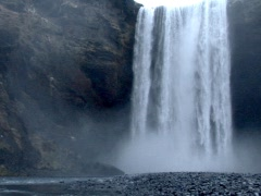 Long Falls Stock Footage