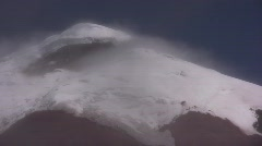 Cotopaxi Volcano timelapse Stock Footage