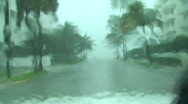 Stock Video Footage of Hurricane Drive
