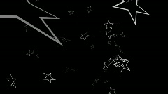Editors Element Star Particle loop Stock Footage
