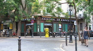 Tradional Pharmacy in old Barcelona Stock Footage