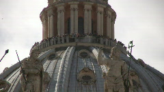 State of Vatican City Roman Stock Footage