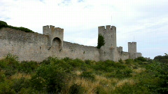 Visby ringwall Stock Footage
