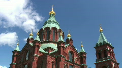 Uspensky Cathedral (timelapse) Stock Footage